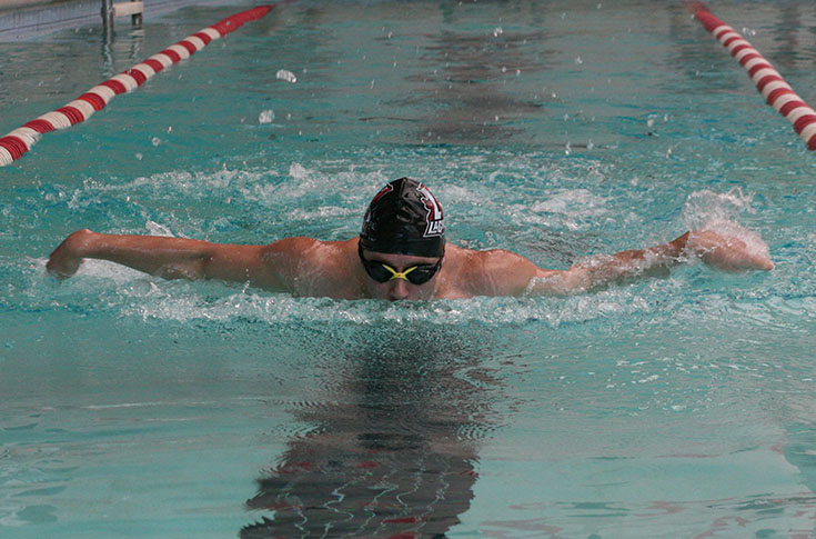 Swimming: Men's team goes up against Birmingham-Southern and Darton State