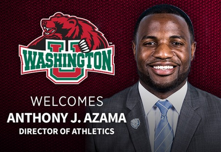 Washington University Names Anthony J. Azama Director of Athletics