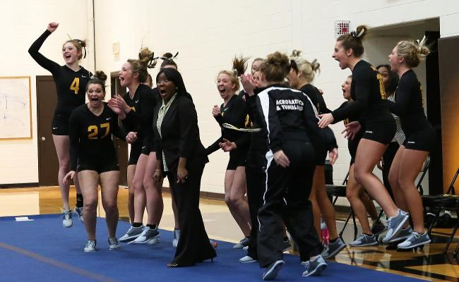 Acrobatics and Tumbling Win Inaugural Meet