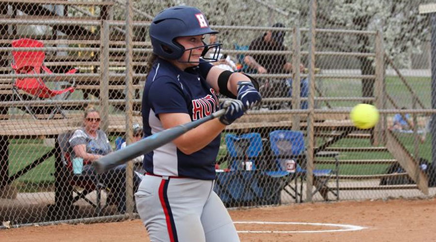 Taylor Ullery collects six hits in a Blue Dragon doubleheader sweep of Northwest Tech on Wednesday. The Blue Dragons have won 16 games in a row. (Bre Rogers/Blue Dragon Sports Information)