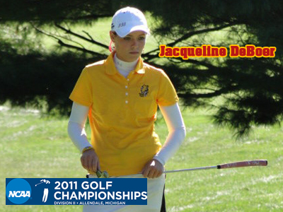 DeBoer Concludes NCAA Women's Golf Championships Tied For 38th Place