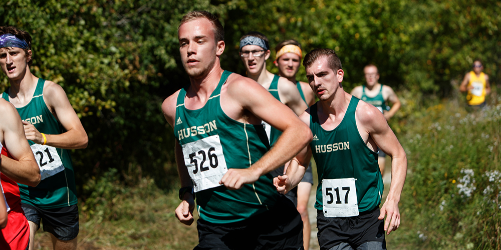Balsamo and Wheeler Lead Men's Cross Country at James Earley Invitational