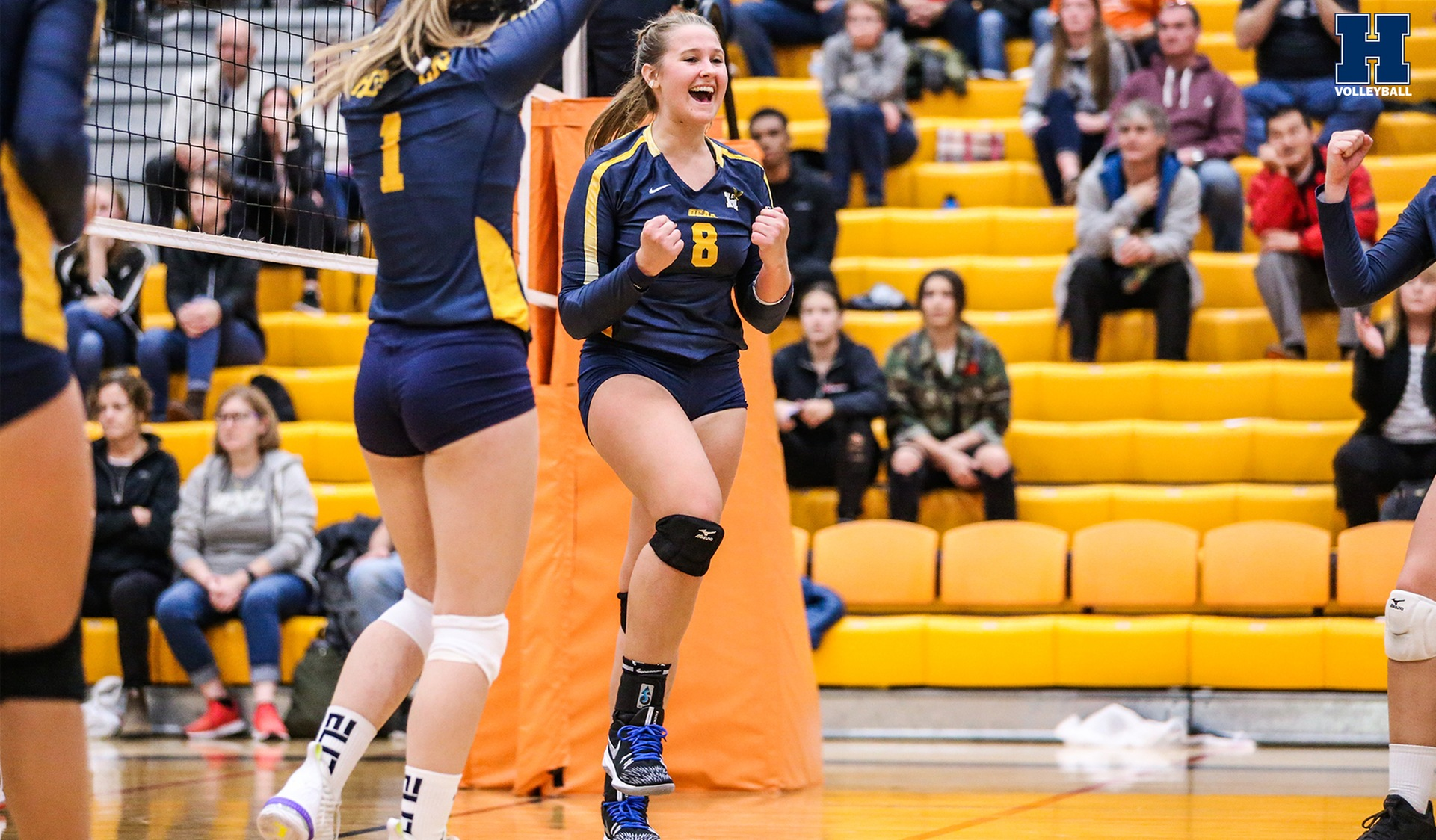 Women's Volleyball Beats Sheridan, 3-1