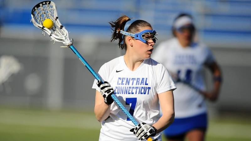 Late Goal Lifts Lax to 5-0 in NEC