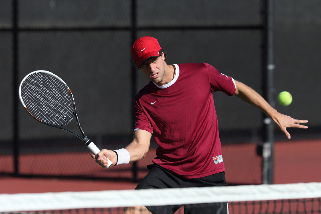 No. 67 Men's Tennis Tops BYU on Saturday; Falls to No. 55 USD on Friday