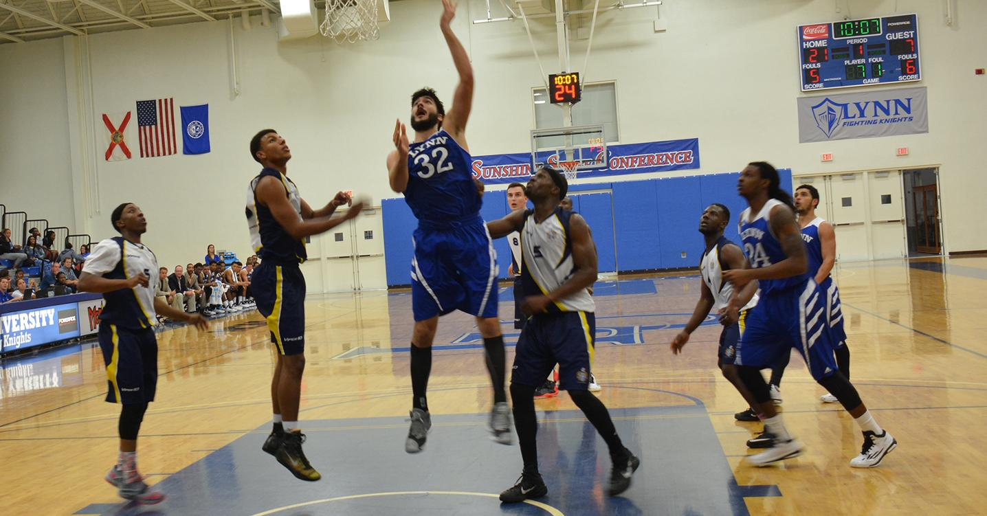 Men's Basketball Remains Unbeaten in SSC Play with win at Tampa