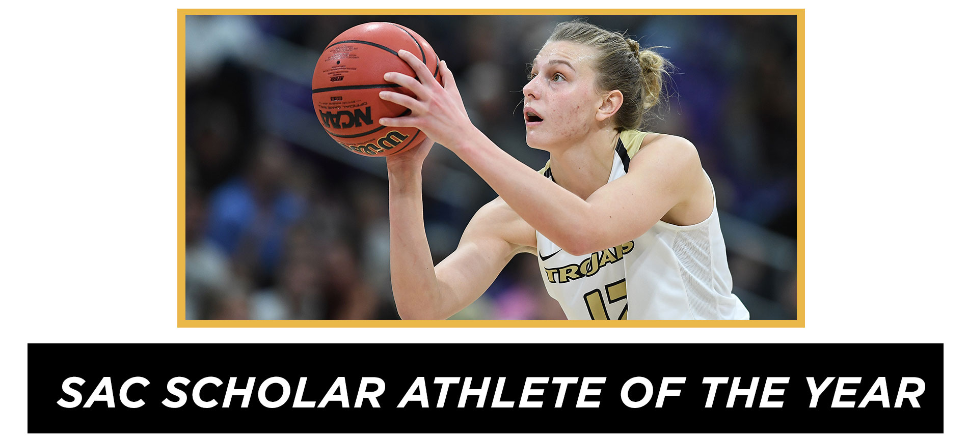 Mollenhauer Earns South Atlantic Conference Women's Basketball Scholar Athlete of the Year