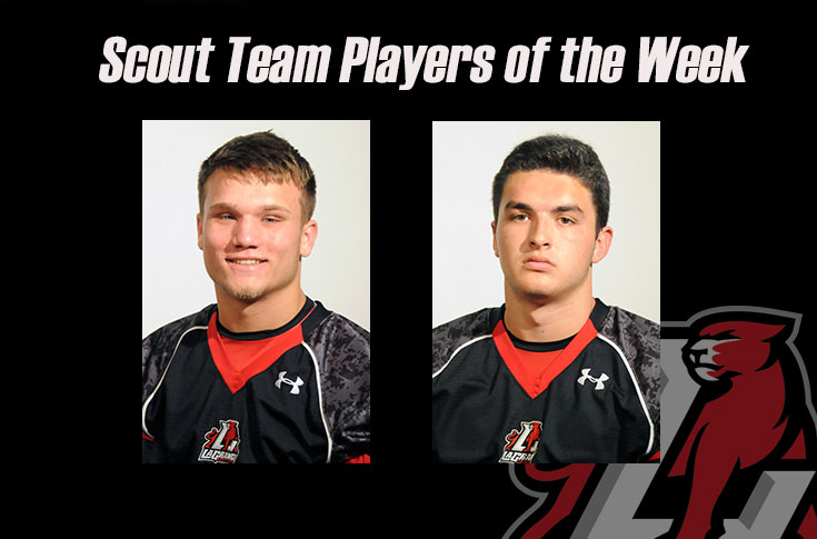 Football: Evan French, Parker Lancaster selected as Scout Team Players of the Week