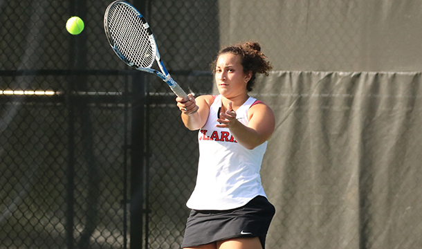 Women's Tennis Tops Lancers, 7-2