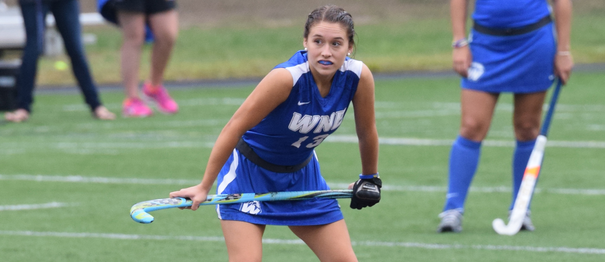 Sophomore Jacqueline Clark scored two goals in Western New England's 3-0 win over Clark on Saturday.