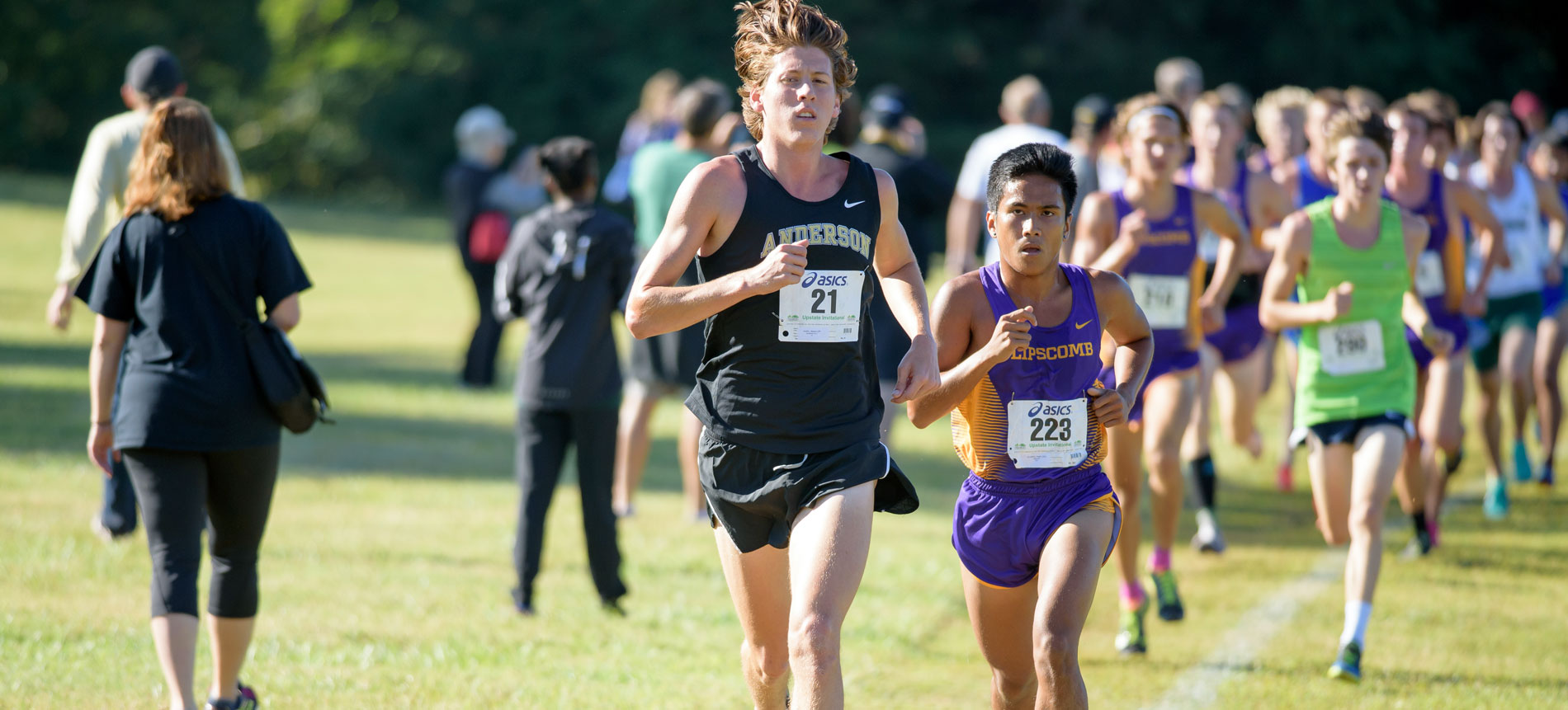 Men's Cross Country Finishes First at Piedmont College Invitational