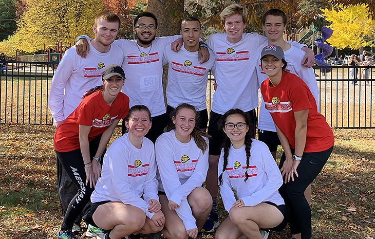 Women's Cross Country Posts Personal-Records at NECC Championships
