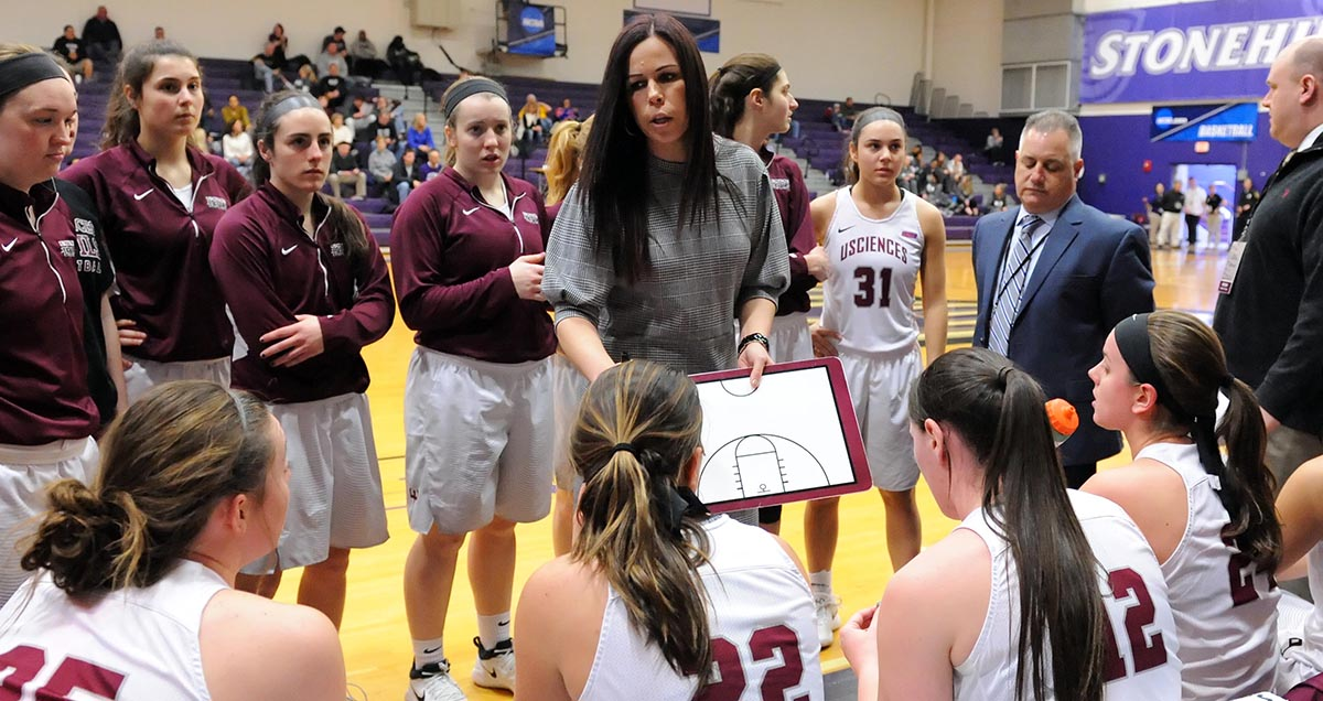 USciences' Jackie Hartzell Named WBCA Division II East Region Coach of the Year & Finalist for the National Coach-of-the-Year Award