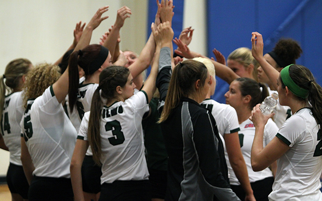 Wilmington Volleyball Takes First State Battle, 3-0, on the Road at Goldey-Beacom