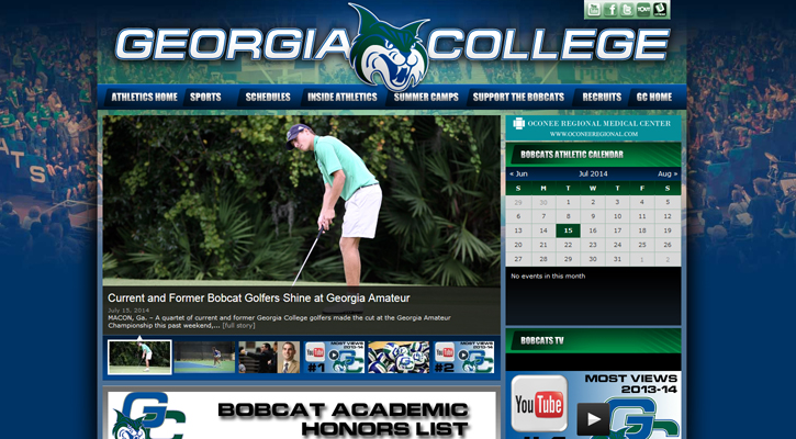 GCBobcats.com Hits 1-Million Views, 24-Million Hits for 2013-14