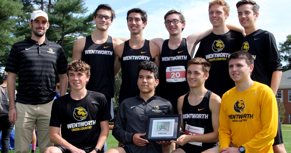Top Five Shine as Men's Cross Country Takes Second at Pop Crowell Invite