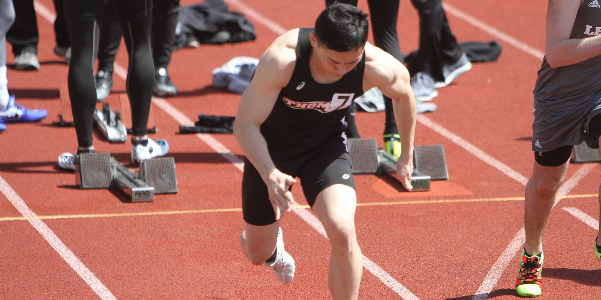 Track and Field Hosts Program's First Meet