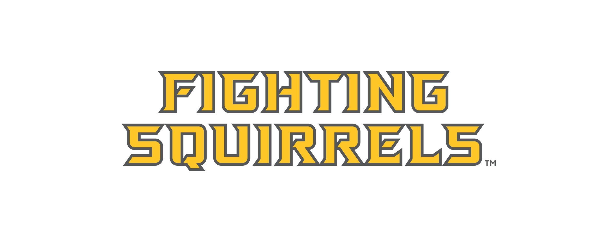 Fighting Squirrels wordmark