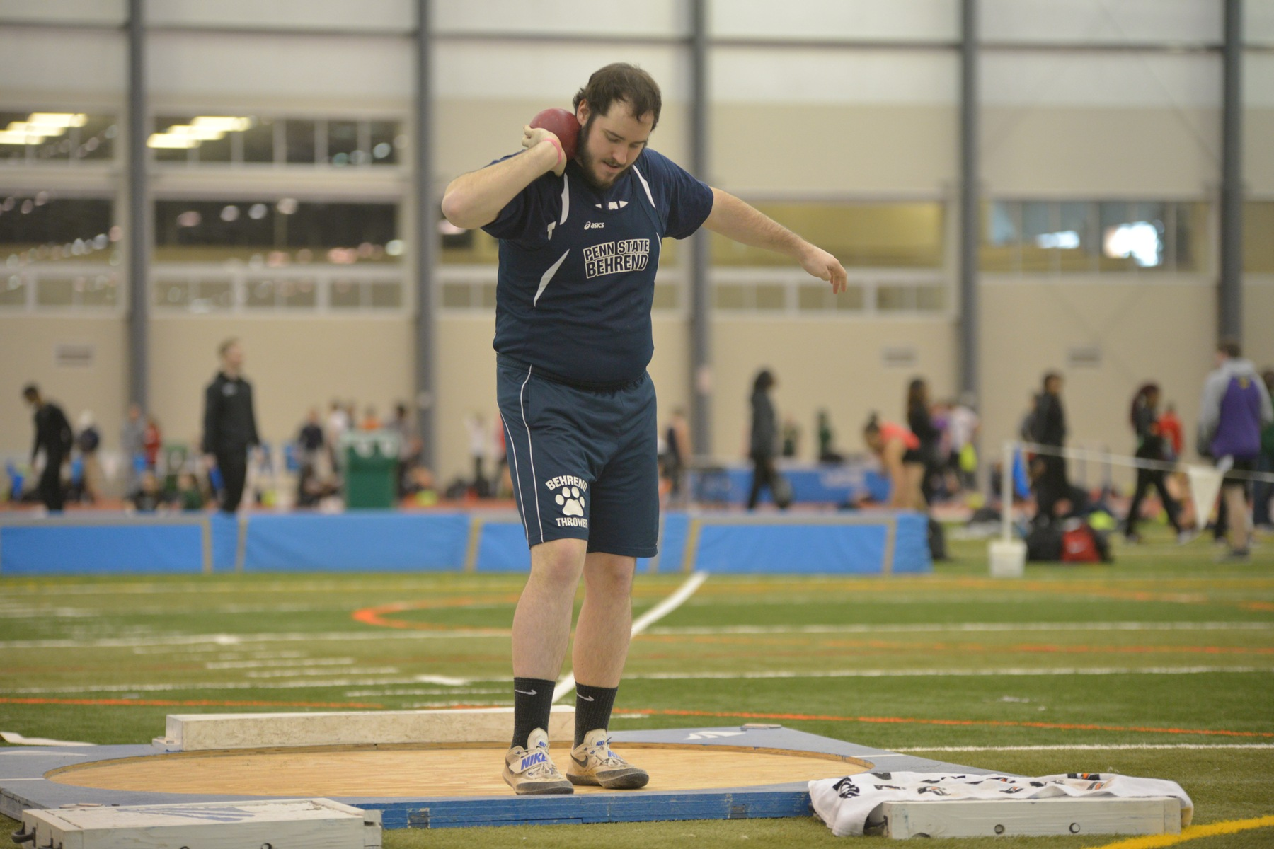Lions Take Home First in 13 Events at Behrend Invitational