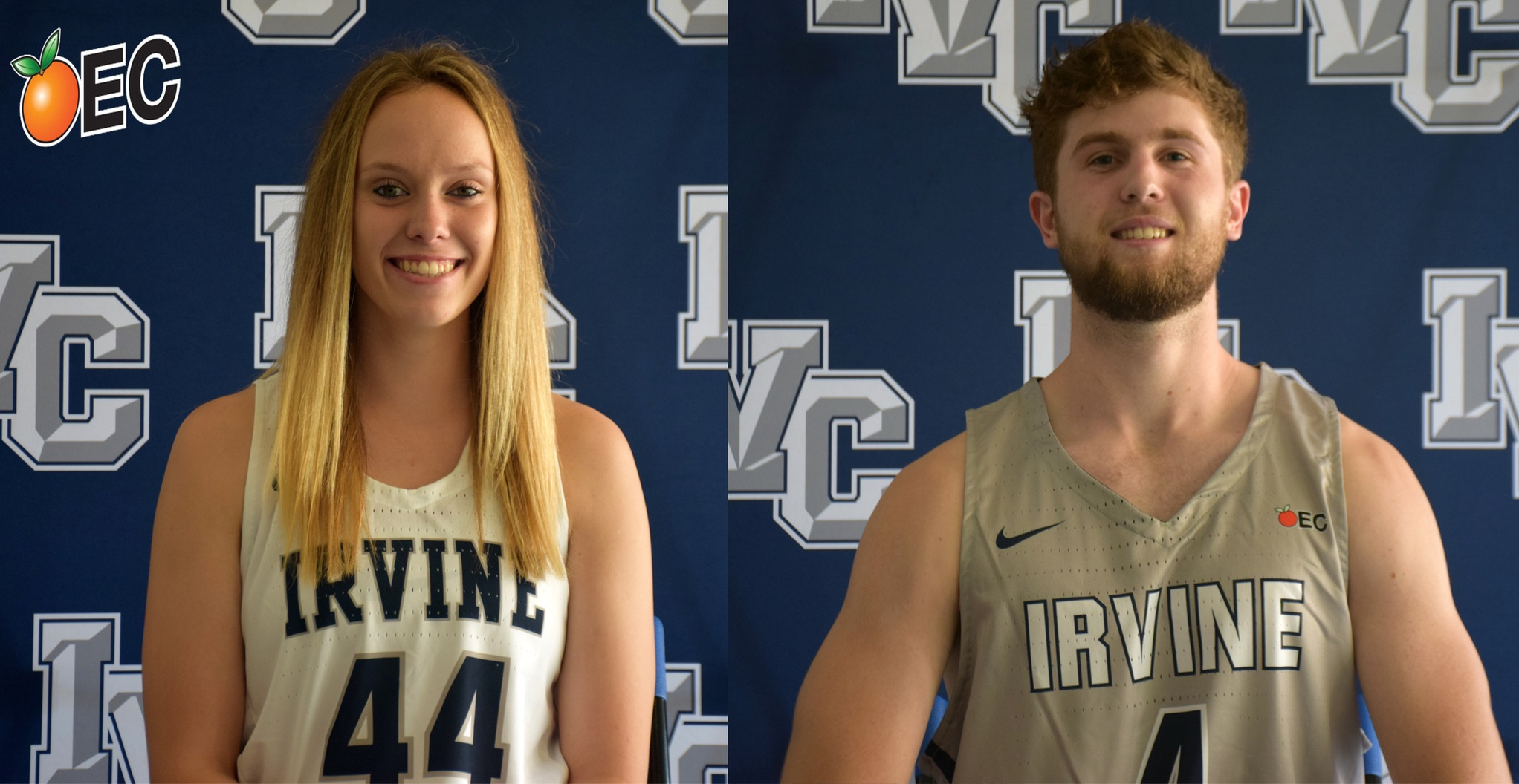 Kasey Smit, Zane Paddon earn Irvine Valley character awards