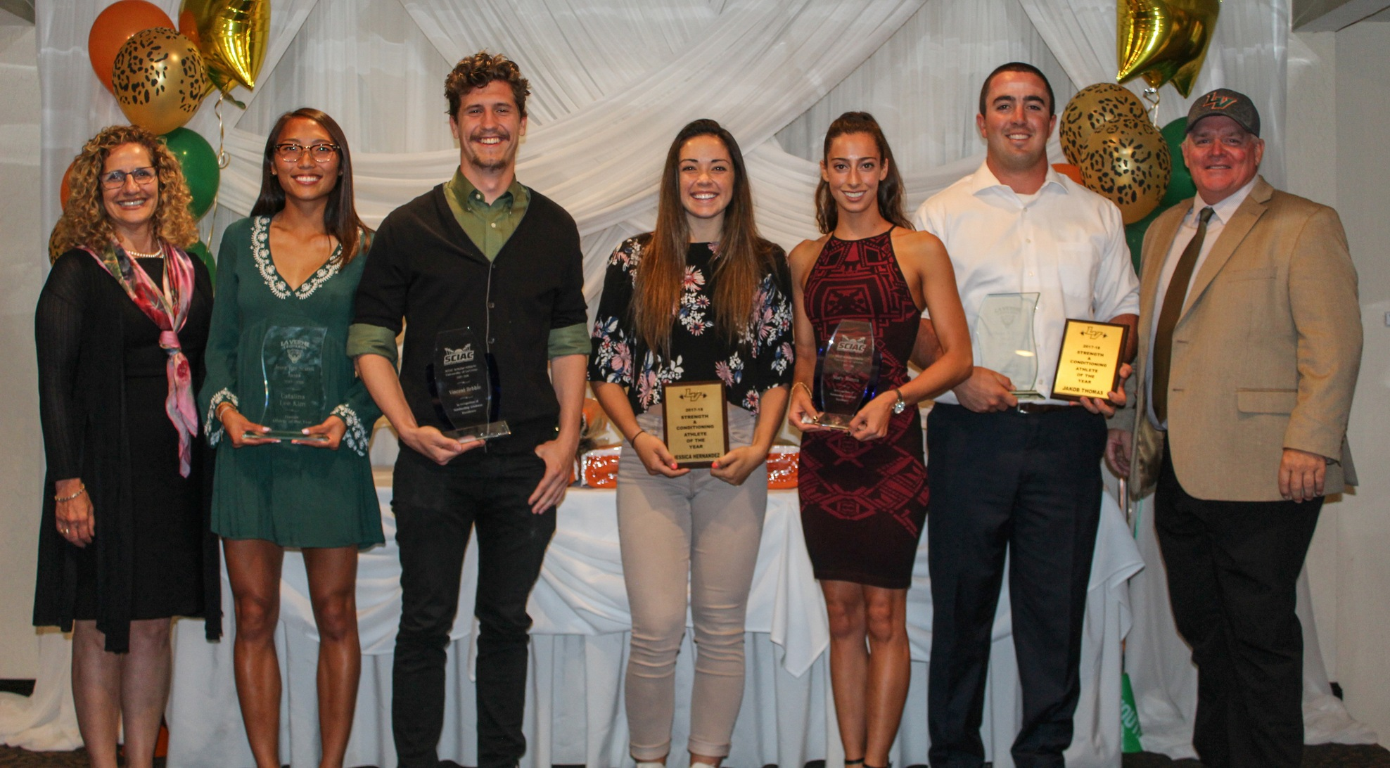 Leopards recognized at Senior Blanket Awards