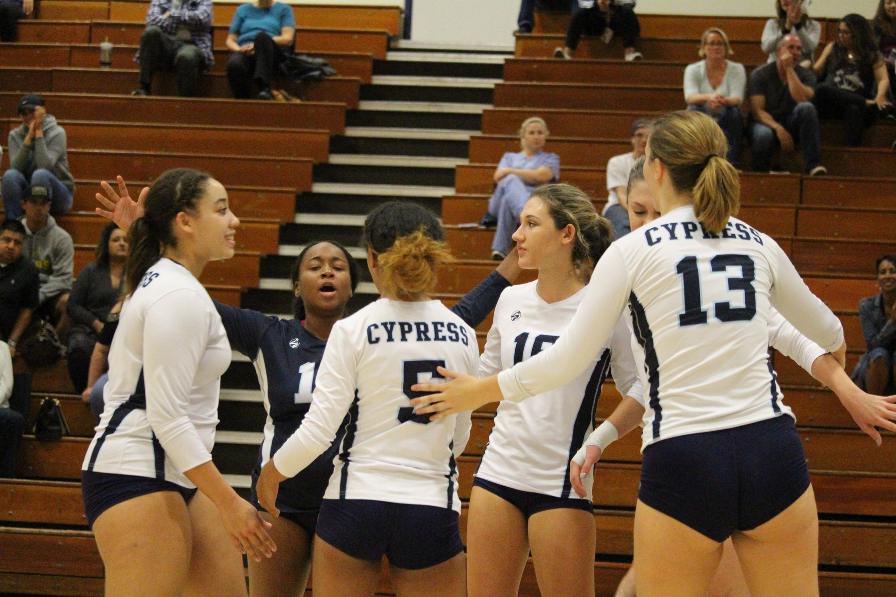 No. 18 Cypress Sweeps No. 21 Golden West, 3-0