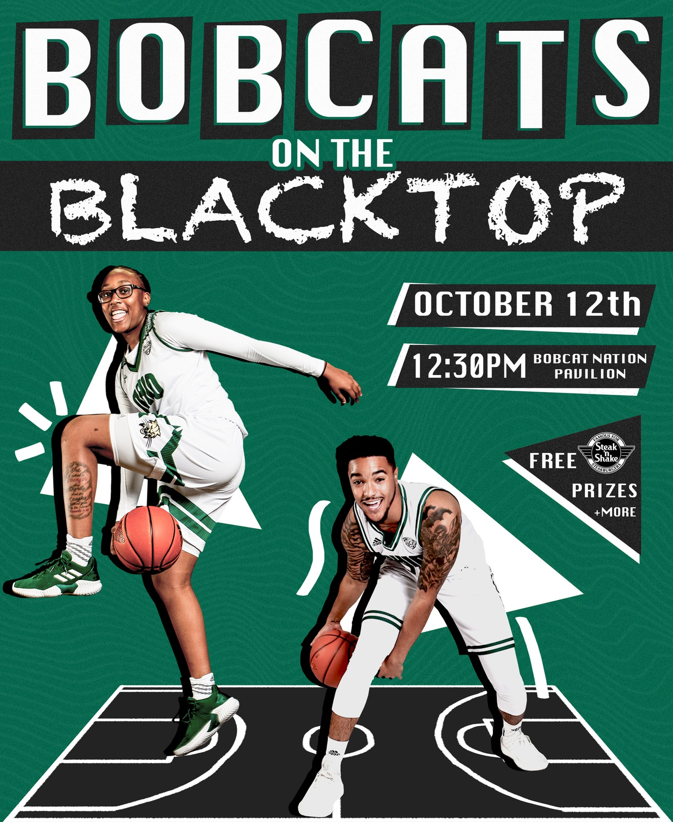 Ohio Basketball To Host Bobcats on the Blacktop