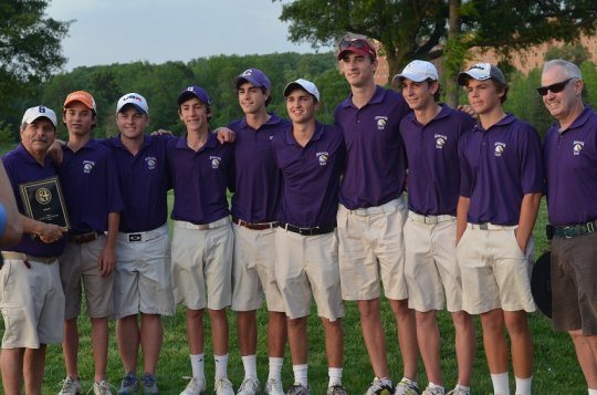 Paul VI's Charles Musto earns an honest WCAC golf title; Gonzaga wins team crown