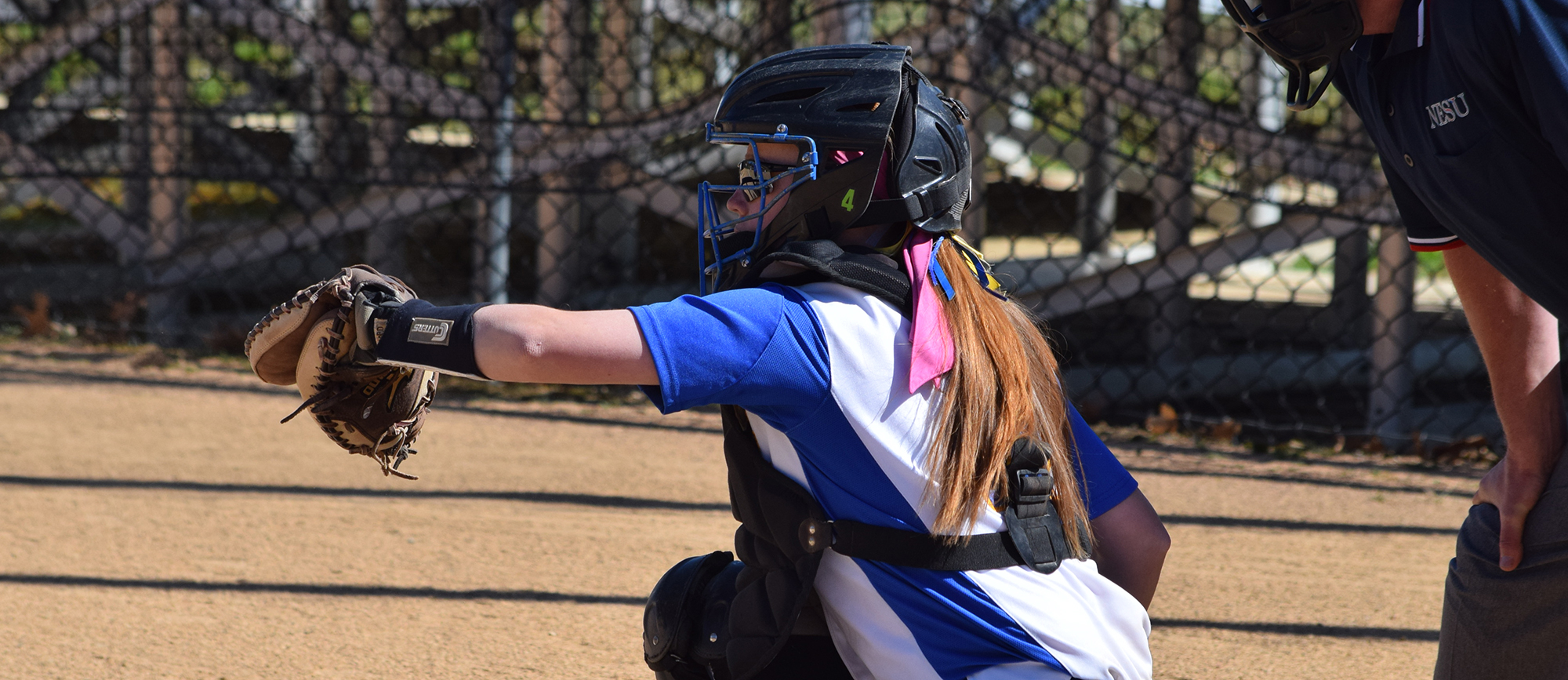 Junior Jenn Luba recorded three hits and four RBI during Western New England's doubleheader split with Nichols on Thursday. (Photo by Rachael Margossian)