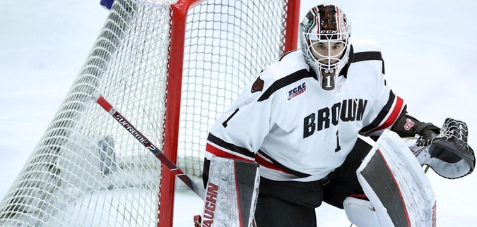 Brown blanks Princeton, claims Game 1 in ECAC Hockey First Round