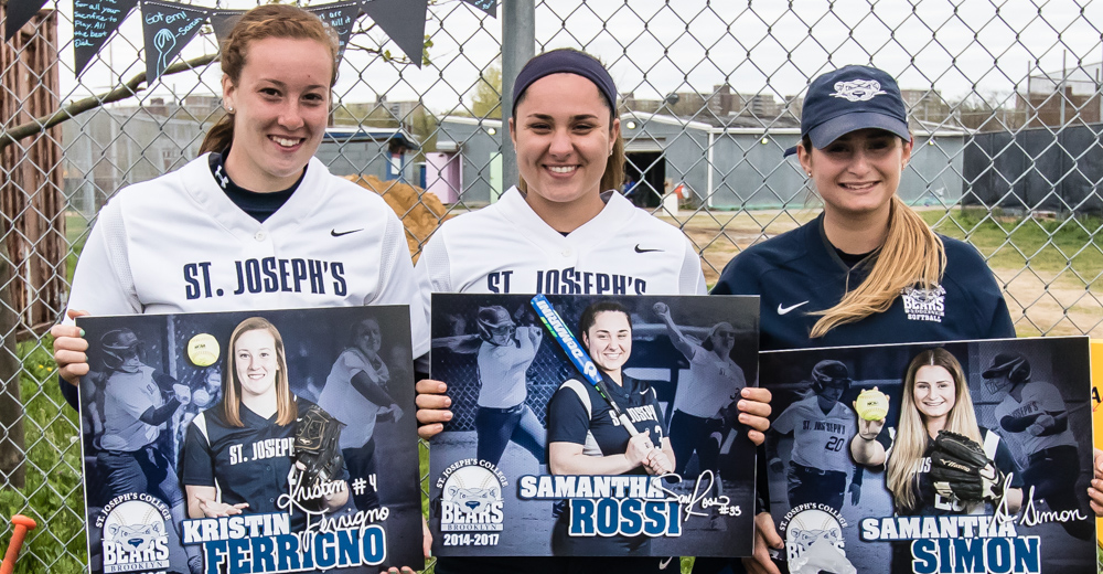 Softball Closes Out Regular Season on Four-Game Winning Streak Sweeping Yeshiva on Senior Day