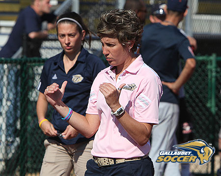 Preseason women's soccer chat replay with Gallaudet coach Sarah Gumina