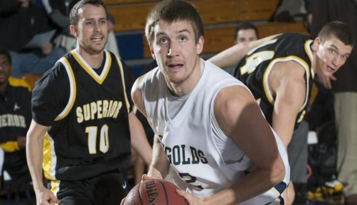 Men's Basketball Comeback Falls Just Short at UW-Stout