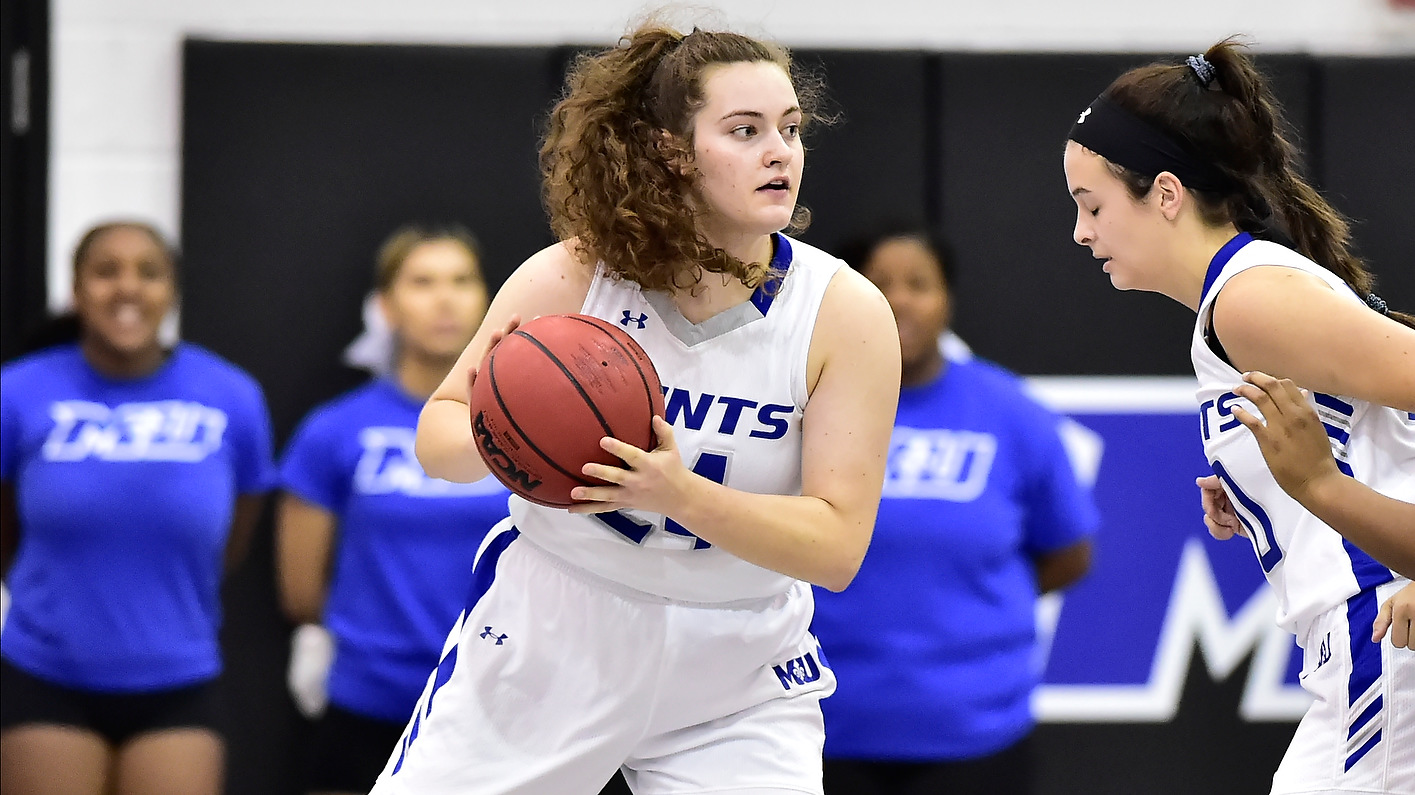 Saints roll past Wolverines, 88-28, to open Atlantic East action
