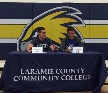 Men's Soccer Signs Local Products