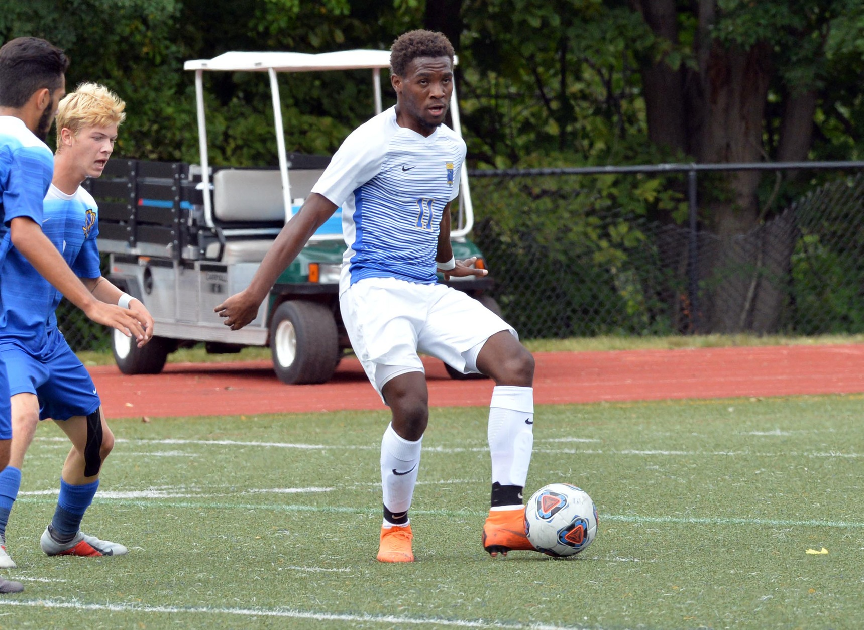 Mitchell College Rallies to Down Men's Soccer