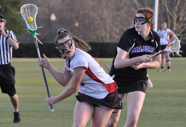 Lacrosse: Majors slip by Panthers in evening match-up