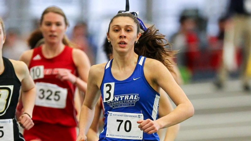 Rafter Breaks 800M Program Record, Women's Track Takes First