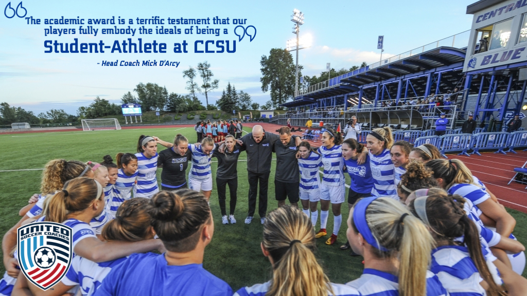 Women's Soccer Earns 16th Consecutive United Soccer Coaches Team Academic Award
