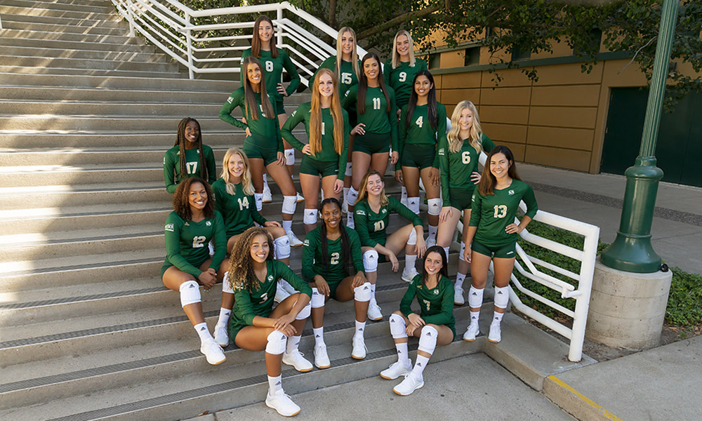VOLLEYBALL SELECTED THIRD IN BIG SKY PRESEASON COACHES POLL