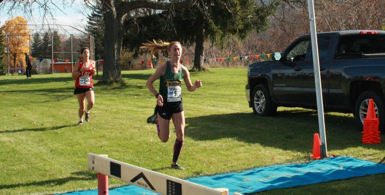 Aubrey O'Connor was the top finisher for the Wolves on Saturday