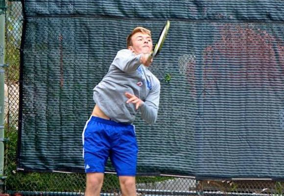 Tennis Routs Emerson, Improves NEWMAC Standing