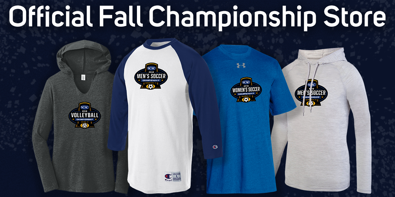 2018 SCAC Fall Championship Merchandise Available