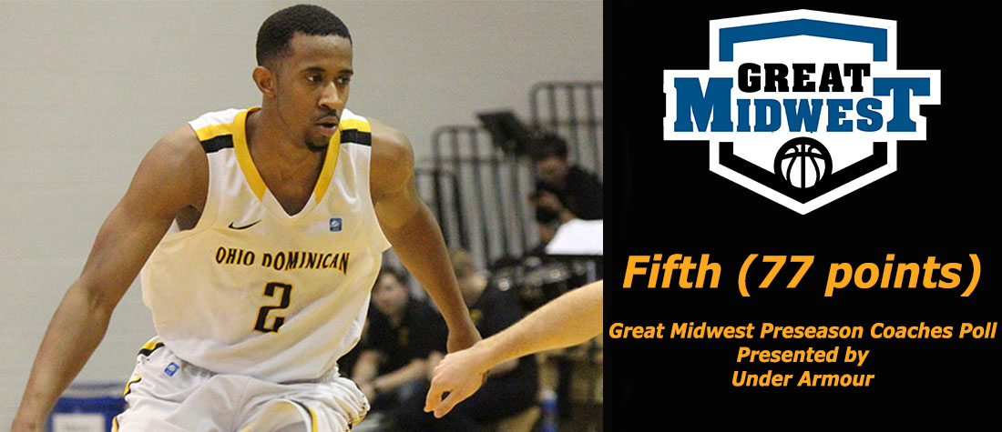 Men's Basketball Projected Fifth In Great Midwest Coaches Poll
