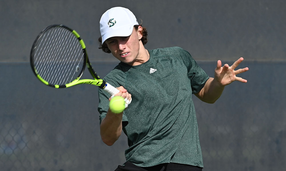 MEN'S TENNIS FALLS TO FGCU IN FIRST OF TWO MATCHES IN PHOENIX