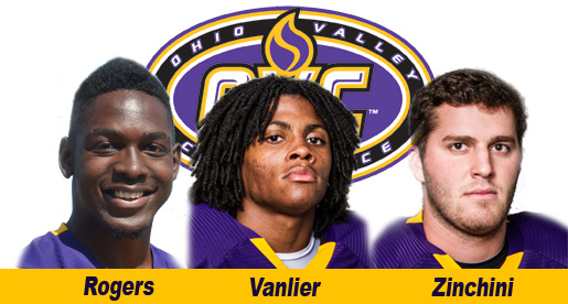 Zinchini, Vanlier named all-OVC; three listed on all-newcomer squad