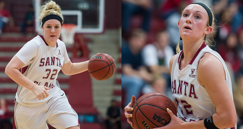 Two Women's Basketball Players Honored by WCC