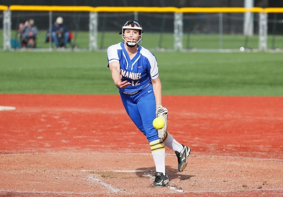 SHARON LIFTS USJ PAST SOFTBALL IN GNAC TOURNEY, 5-3