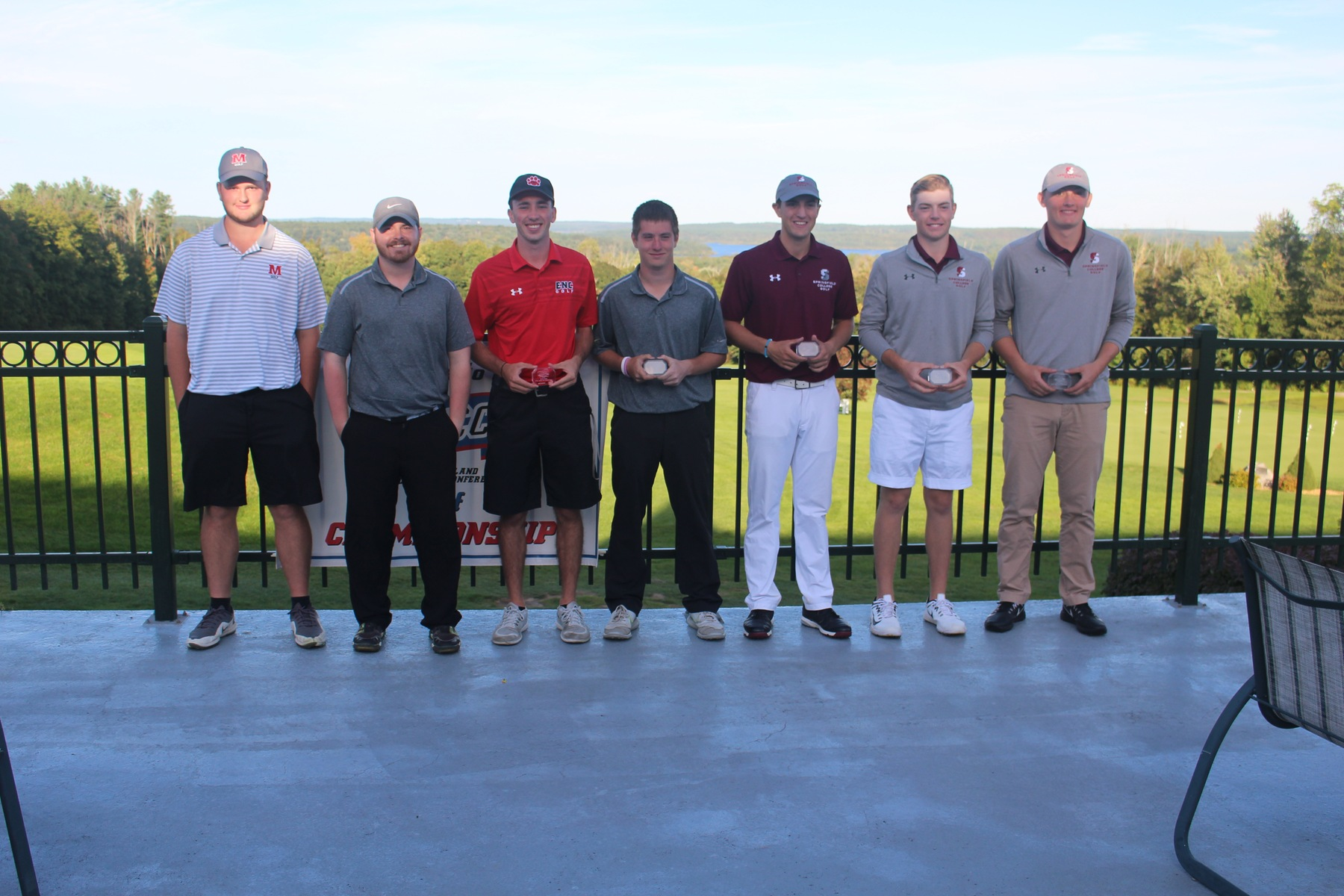 Blazer Golf Earns Runner-Up Finish At NECC Championship