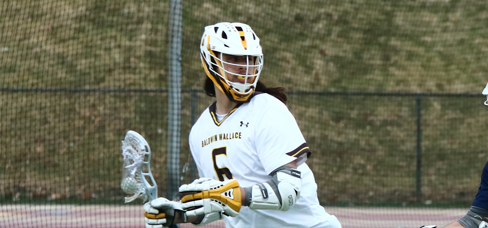 Junior attack Drew Braden scored a career-high five goals and five assists for 10 points against Wilmington (Photo courtesy of Mike Bower)